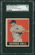 Baseball Cards:Singles (1940-1949), 1948 Leaf George Kell SP #120 SGC 40 VG 3....