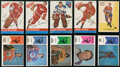 Hockey Cards:Lots, 1950's-1970's Topps & WHA Hockey Card Collection (58)....
