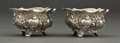 Silver Holloware, American:Open Salts, A PAIR OF GORHAM SILVER AND SILVER GILT OPEN SALTS . GorhamManufacturing Co., Providence, Rhode Island, circa 1900. Marks: ...(Total: 2 Items)