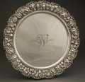 Silver & Vertu:Hollowware, A STIEFF SILVER TRAY . The Stieff Company, Baltimore, Maryland, circa 1909. Marks: (crown), STIEFF, S, STERLING, 25, 16...