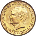 Commemorative Gold, 1917 G$1 McKinley MS67 PCGS. CAC....
