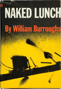 Books:First Editions, William S. Burroughs. Naked Lunch. New York: The GrovePress, 1959. First American edition. Octavo. xvi, 255 pag...