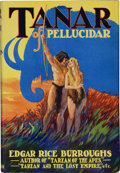 Books:Science Fiction & Fantasy, Edgar Rice Burroughs. Tanar of Pellucidar. New York:Metropolitan Books Publishers, [1930]. First edition. Octav...