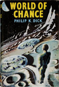 Books:Science Fiction & Fantasy, Philip K. Dick. World of Chance. London: Rich and Cowan,1956. First edition. Octavo. 160 pages. Publisher's blue cl...