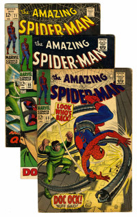 The Amazing Spider-Man Group (Marvel, 1967-83) Condition: Average VG.... (Total: 11 Comic Books)