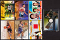 Basketball Cards:Lots, Basketball Signed And Swatch Card Collection Of 21....