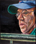 Baseball Collectibles:Others, Steve Bartman Original Oil Painting....
