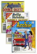 Modern Age (1980-Present):Humor, Archie-Related Digests Box Lot (Archie, 1975-2000) Condition:Average VF....
