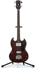 Musical Instruments:Bass Guitars, 1968 Gibson EB-0 Cherry Electric Bass Guitar #513903...