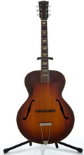 Musical Instruments:Acoustic Guitars, 1950's Gibson L-50 Sunburst Archtop Acoustic Guitar ...