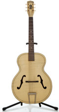 Musical Instruments:Acoustic Guitars, 1950's Harmony Blonde Archtop Acoustic Guitar ...