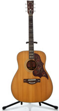 Musical Instruments:Acoustic Guitars, 1970's Yamaha FG-300 Natural Acoustic Guitar #95110111...