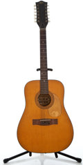 Musical Instruments:Acoustic Guitars, 1960's Hofner Natural 12 String Acoustic Guitar #202807...