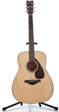 Musical Instruments:Acoustic Guitars, Recent Yamaha FG-700S Guitar Package Natural Acoustic Guitar #QBP 260094...