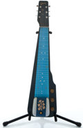 Musical Instruments:Lap Steel Guitars, 1950's Gibson Ultratone Century Seal Blue Lap Steel Guitar ...