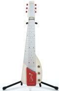 Musical Instruments:Lap Steel Guitars, 1940's Gibson Ultratone Beach White Lap Steel Guitar ...