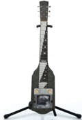 Musical Instruments:Lap Steel Guitars, 1955 National Valco Project Gray MOTS Lap Steel Guitar #X51516...