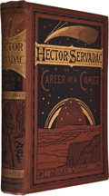 Books:First Editions, Jules Verne. Hector Servadac. London: Sampson Low, Marston,Searle & Rinington, 1878. First English edition. Transla...
