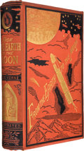 Books:First Editions, Jules Verne. From the Earth to the Moon Direct inNinety-Seven Hours Twenty Minutes: And a Trip Round It. NewYo...