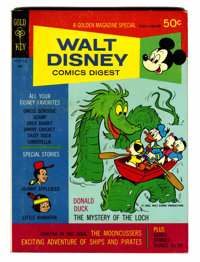 Walt Disney Comics Digest #11 Group Signed by Carl Barks (Gold Key, 1969) Condition: Average NM.... (Total: 7 Comic Book...