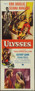 "Movie Posters:Adventure, Ulysses (Paramount, 1955). Insert (14"" X 36""). Adventure.. ..."