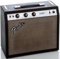 Musical Instruments:Amplifiers, PA, & Effects, 1970's Fender Champ Silverface Guitar Amplifier #A766207...