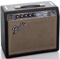 Musical Instruments:Amplifiers, PA, & Effects, 1960's Fender Vibro Champ Blackface Guitar Amplifier #A07876...