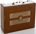 Musical Instruments:Amplifiers, PA, & Effects, 1950's Gibson GA-20 Brown Guitar Amplifier ...