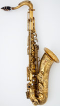 Musical Instruments:Horns & Wind Instruments, 1949 Selmer Super Action Brass Tenor Saxophone #35815...
