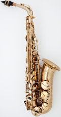 Musical Instruments:Horns & Wind Instruments, Recent Selmer Brass Alto Saxophone #826475...