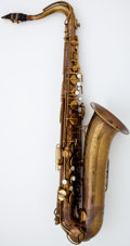 Musical Instruments:Horns & Wind Instruments, 1947 The Martin Brass Tenor Saxophone #158996...