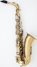 Musical Instruments:Horns & Wind Instruments, 1939 Martin Handcraft Comm. II Brass Alto Saxophone #131510...