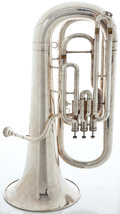 Musical Instruments:Horns & Wind Instruments, Besson 700 Silver Tuba #777-726868...