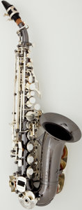 Musical Instruments:Horns & Wind Instruments, Recent Cannonball Big Bell Global Series Silver Soprano Saxophone #110184...