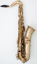 Musical Instruments:Horns & Wind Instruments, 1922 Buescher True Tone Low Pitch Brass Alto Saxophone #101885...