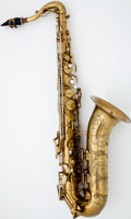 Musical Instruments:Horns & Wind Instruments, 1946 The Buescher 400 Brass Tenor Saxophone #309005...