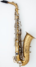 Musical Instruments:Horns & Wind Instruments, 1924 Martin Indiana Brass Alto Saxophone #39133...