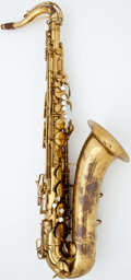 Musical Instruments:Horns & Wind Instruments, 1950 Conn Naked Lady Brass Tenor Saxophone #336232...