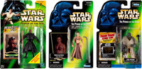 Star Wars: The Power of the Force Green Card Action Figure Multiple Box Group (Kenner, 1996-99).... (Total: 32 Items)