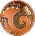 American Indian Art:Pottery, A FOUR MILE POLYCHROME BOWL . c. 1250 A.D....