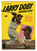 Golden Age (1938-1955):Non-Fiction, Larry Doby, Baseball Hero #nn (Fawcett, 1950) Condition: VG+....