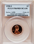 Proof Lincoln Cents: , 1998-S 1C PR69 Red Deep Cameo PCGS. PCGS Population (3962/132). NGCCensus: (1006/108). Numismedia Wsl. Price for problem ...