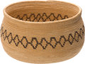 American Indian Art:Baskets, A CHEMEHUEVI COILED BOWL. c. 1920...