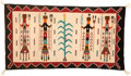 American Indian Art:Weavings, A NAVAJO YEI RUG. c. 1925...