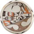 American Indian Art:Pottery, A HOPI POLYCHROME BOWL. Helen Naha. c. 1970...