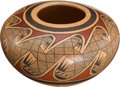 American Indian Art:Pottery, A HOPI POLYCHROME JAR. Fannie Nampeyo. c. 1980...