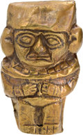 Other, Moche Gold Votive Effigy of a Man...