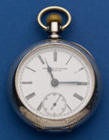Timepieces:Pocket (post 1900), New York Standard Coin Silver 18 Size Fourth Model Pocket Watch....