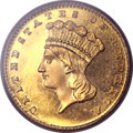 Proof Gold Dollars, 1888 G$1 PR64 PCGS....