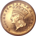 Proof Gold Dollars, 1885 G$1 PR64 PCGS....